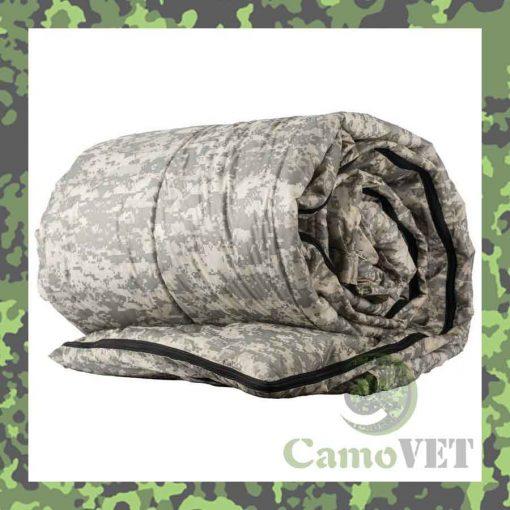 Digital camo queen size nylon sleeping bag