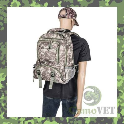 water resistant digital camo backpack